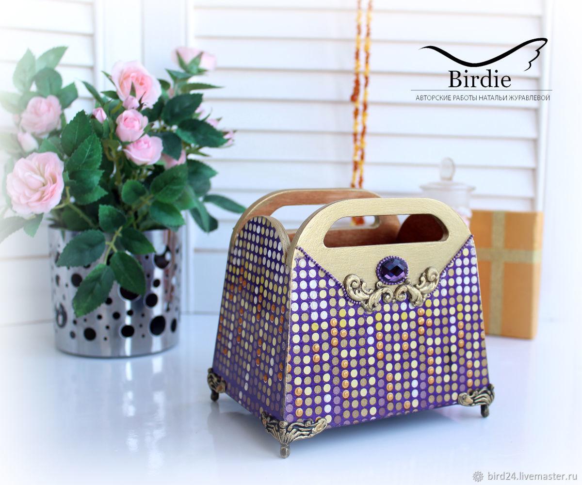 Mini-dressers: Handbag-stand'Evening', Mini Dressers, St. Petersburg,  Фото №1