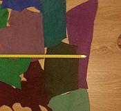 Материалы для творчества ручной работы. Ярмарка Мастеров - ручная работа ОБРЕЗКИ замши  натуральной.. Handmade.