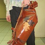 Сумки и аксессуары ручной работы. Ярмарка Мастеров - ручная работа Кожаная сумка Дубовый лист. Handmade.