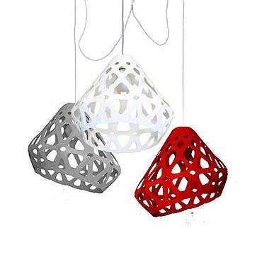 Для дома и интерьера ручной работы. Ярмарка Мастеров - ручная работа ZAHA LIGHT трехцветная трехрожковая люстра 15. Handmade.