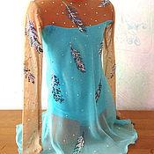 """Одежда ручной работы. Ярмарка Мастеров - ручная работа Платье для фигурного катания """" Воздушное"""". Handmade."""