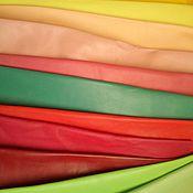Материалы для творчества ручной работы. Ярмарка Мастеров - ручная работа Натуральная кожа Наппа Италия - цветная. Handmade.