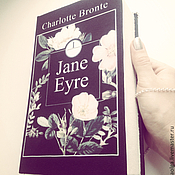 """Сумки и аксессуары ручной работы. Ярмарка Мастеров - ручная работа Сумка книга (клатч). """"Jane Eyre"""". Handmade."""
