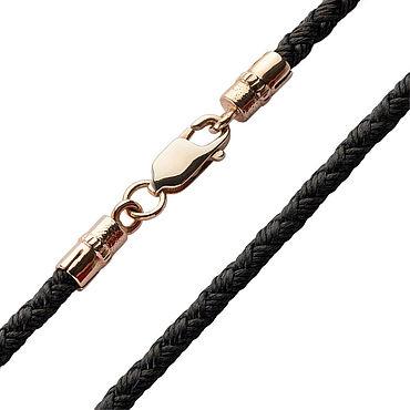 Украшения ручной работы. Ярмарка Мастеров - ручная работа Золотой Шёлковый шнурок - толщина 2,5 мм. Handmade.