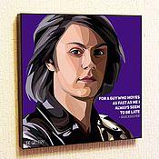 Подарки к праздникам handmade. Livemaster - original item Picture poster Mercury Pop Art Marvel. Handmade.