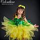 Детские карнавальные костюмы ручной работы. Ярмарка Мастеров - ручная работа. Купить костюм одуванчика. Handmade. Желтый, атлас