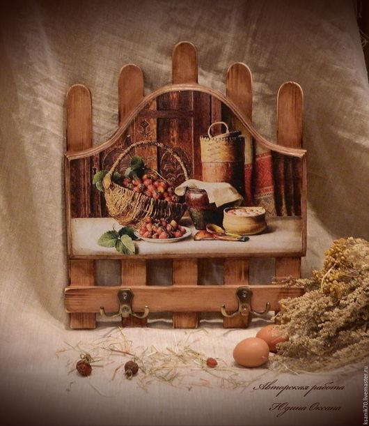 Вешалка для дома ` Любимый дом`.Ручная работа.Автор Юдина Оксана.Для дома и интерьера.