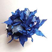 Украшения handmade. Livemaster - original item Brooch hair clip with fabric flower. Big flower.. Handmade.