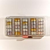 Материалы для творчества handmade. Livemaster - original item A set of dyes with the possibility of food application-shimmers-glitters. Handmade.