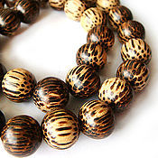 Материалы для творчества handmade. Livemaster - original item Beads Old palm ball 12mm. Handmade.