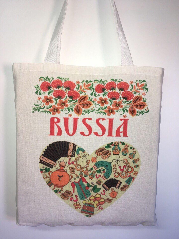 Туристическая экосумка «Россия»