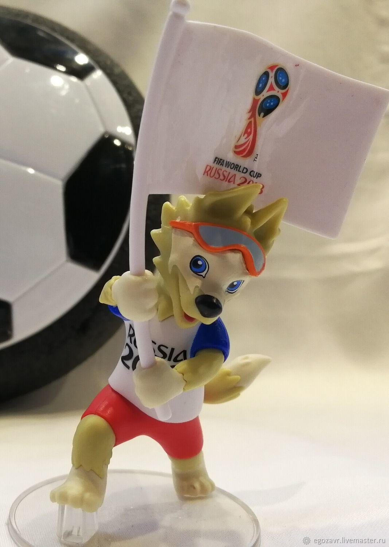 Талисман Чемпионата Мира По Футболу 2018 Волк Купить