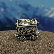 handmade. Livemaster - original item Dwarf mine trolley charm. Handmade.