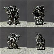 """Материалы для творчества ручной работы. Ярмарка Мастеров - ручная работа Бусина """"Кащей"""". Handmade."""