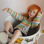 Куклы и игрушки ручной работы. Ярмарка Мастеров - ручная работа Кэтрин (фарфоровая bjd). Handmade.