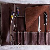 Сумки и аксессуары handmade. Livemaster - original item Twisting for 5 knives. Handmade.