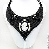 Украшения handmade. Livemaster - original item Necklace cameo handmade. Handmade.