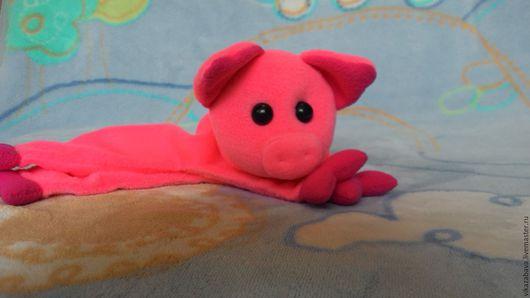 игрушка-компаньон, игрушка сплюшка, мягкая игрушка для малыша, любимая игрушка, игрушка комфортер, мягкая игрушка свинка, игрушка для младенца, мягкая игрушка поросенок, игрушка свинка в подарок