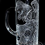 Посуда handmade. Livemaster - original item Thorin Oakenshield. Beer mug. Handmade.