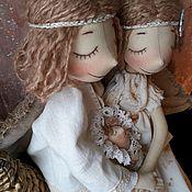 Куклы и игрушки handmade. Livemaster - original item Lovebirds are a Symbol of quiet family happiness. Handmade.