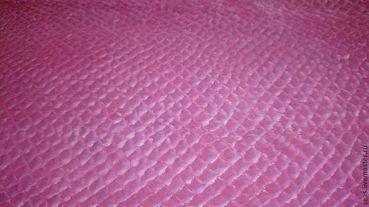 Шитье ручной работы. Ярмарка Мастеров - ручная работа. Купить КОЖА СЕМГИ- розовый. Handmade. Натуральная кожа, кожа для кошелька