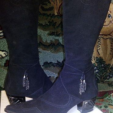 Обувь ручной работы. Ярмарка Мастеров - ручная работа Сапоги: брендовые сапоги. Handmade.