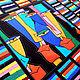 Текстиль, ковры ручной работы. Ярмарка Мастеров - ручная работа. Купить лоскутное покрывало  АЛЬТЕР ЭГО - 2. Handmade.