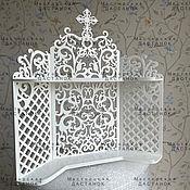 Для дома и интерьера handmade. Livemaster - original item Shelf for corner icons. Handmade.