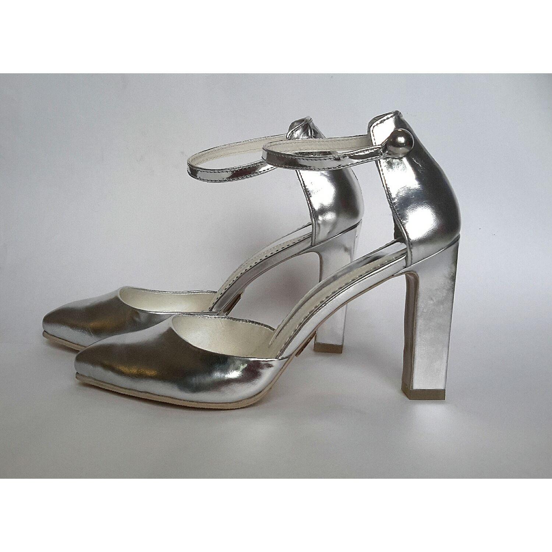Sandalias de mujer 'Plata' en el orden de arte 814, Slingbacks, Barnaul,  Фото №1