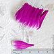 Лепестки сиреневые закругленные большие My Thai Материалы для флористики из Таиланда