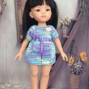 Куклы и игрушки ручной работы. Ярмарка Мастеров - ручная работа Мини платьице на куклу паола рейна. Handmade.