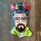Украшения handmade. Livemaster - original item Brooch portrait