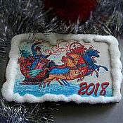 Подарки к праздникам ручной работы. Ярмарка Мастеров - ручная работа Пряники к Новому году. Handmade.