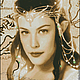 Арвен-2. Авторская схема для вышивки крестом. А́рвен Ундо́миэль  — персонаж эпоса «Властелин колец» Дж. Толкина, дочь Элронда, внучка Галадриэль.