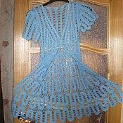 Одежда ручной работы. Ярмарка Мастеров - ручная работа Пляжный халат 42-44. Handmade.