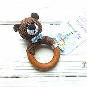 Куклы и игрушки handmade. Livemaster - original item Rattle-teether