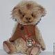 Мишки Тедди ручной работы. Малыш Джони. Irene Gromi (Teddy Art Boutique). Интернет-магазин Ярмарка Мастеров. Мишка