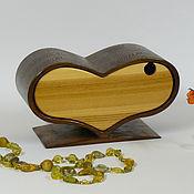 Для дома и интерьера ручной работы. Ярмарка Мастеров - ручная работа Миникомодик сердце. Handmade.