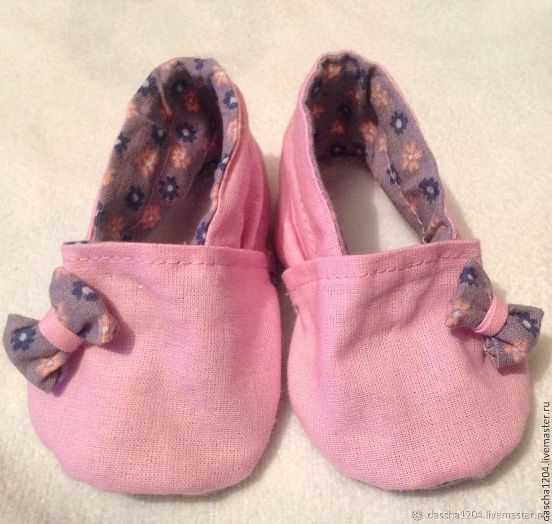 Детская обувь ручной работы. Ярмарка Мастеров - ручная работа. Купить Пинетки-моксы для девочек и мальчиков. Handmade. Пинетки, синие