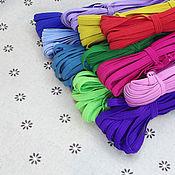 Резинки ручной работы. Ярмарка Мастеров - ручная работа Резинка цветная 6мм. Handmade.