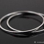 Материалы для творчества handmade. Livemaster - original item Ring connector 30 mm rhodium plate Yu. Korea (art. 2934). Handmade.