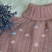 "Одежда handmade. Livemaster - original item Short sweater ""Desert"". Handmade."