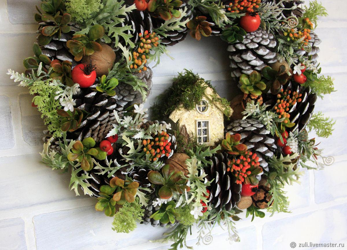 Gifts Christmas Wreath The Color Of Joy Zakazat Na Yarmarke Masterov K68jycom Interernye Venki Podolsk