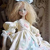 Куклы и игрушки ручной работы. Ярмарка Мастеров - ручная работа Авторская кукла Мятное утро. Handmade.