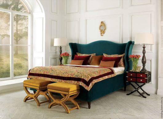 Мебель ручной работы. Ярмарка Мастеров - ручная работа. Купить кровать. Handmade. Кровать на заказ, прованс, декоративная фурнитура