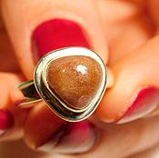 Украшения handmade. Livemaster - original item Silver ring with tourmaline. 17 mm. Handmade.