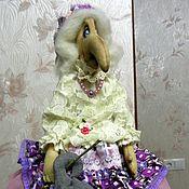 Куклы и игрушки ручной работы. Ярмарка Мастеров - ручная работа Интерьерная кукла Баба Яга. Handmade.