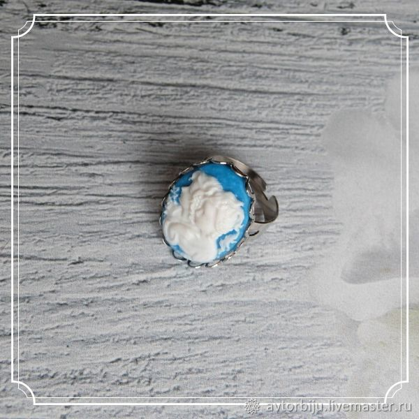 A ring with a cameo (girls), Rings, Smolensk,  Фото №1