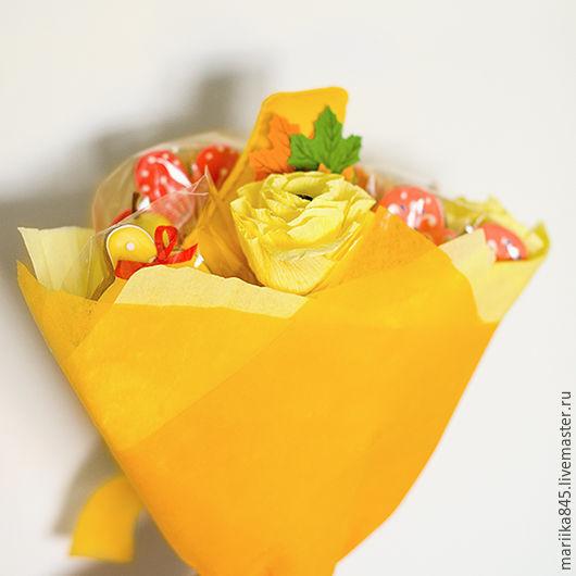Подарочные наборы ручной работы. Ярмарка Мастеров - ручная работа. Купить Праздничный букет. Handmade. Пряники, 1 сентября