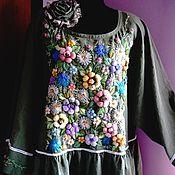 Одежда handmade. Livemaster - original item Dress with embroidery. Handmade.